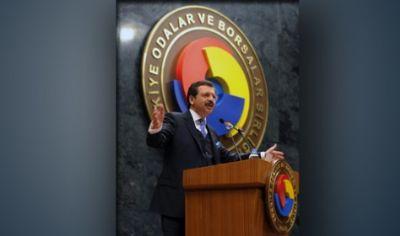 Tobb Başkanı R. Hisarcıklıoğlu'nun Faaliyet Kodu Bilgilendirme Toplantısı