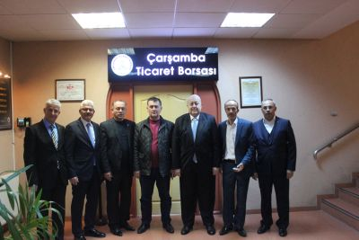 Ziraat Odası ve Organik Üreticiler, Borsayı Ziyaret Ettiler.