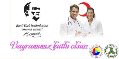 Borsa'nın 14 Mart Tıp Bayramı Mesajı….