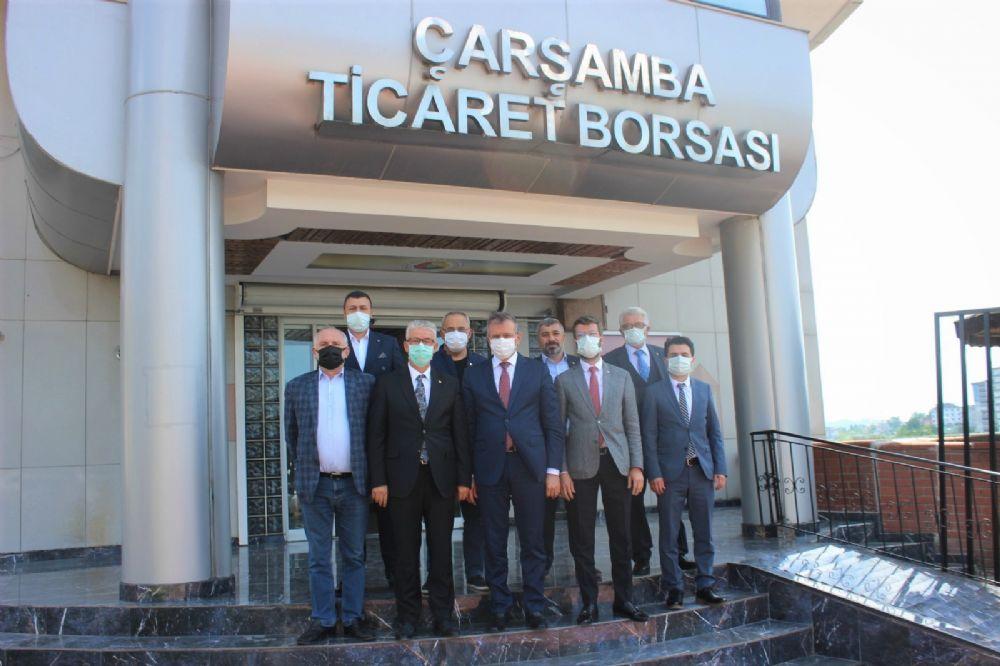 Turpçu'dan Çtb'ye Ziyaret. Fındık İçin Son Söz Söylendi: Kantarcı'ya Geçit Yok