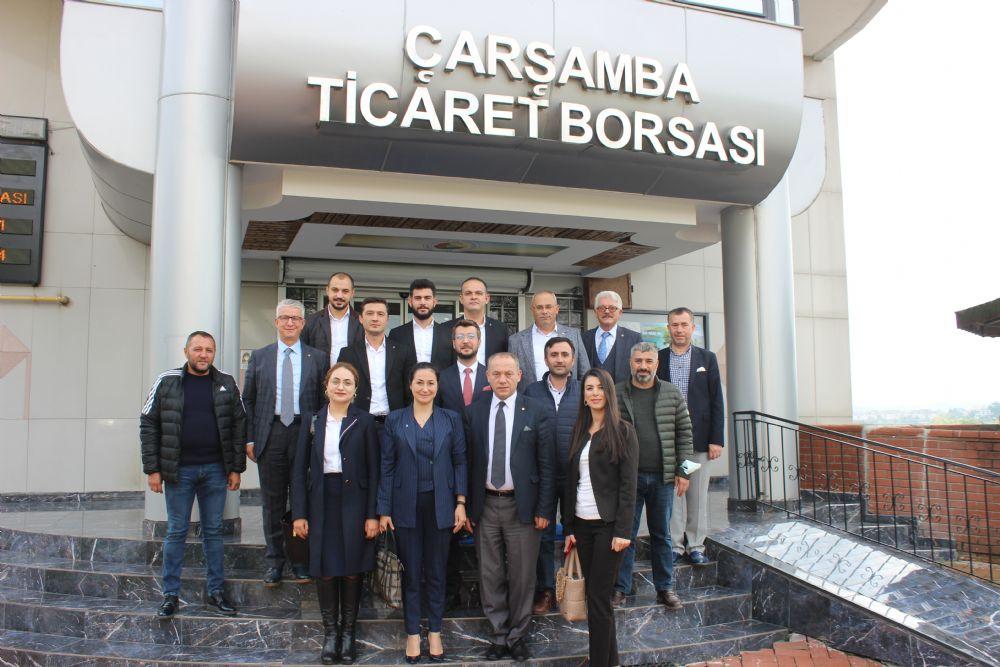 Deva Partisi Heyeti ÇTB'yi Ziyaret Etti