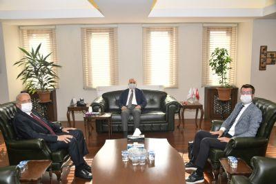 Başkan YILMAZ, Fındıkla İlgili Sorunları Vali Dağlı'ya İletti