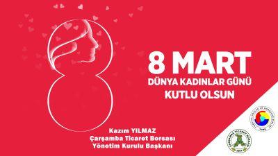 Borsa Başkanı YILMAZ, Kadınların Gününü Kutladı