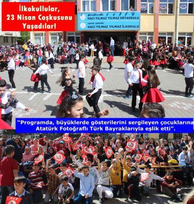 İlkokullular, 23 Nisan Coşkusunu Yaşadılar!