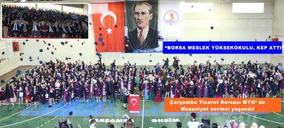 """ Borsa Meslek Yüksekokulu, Kep Attı """