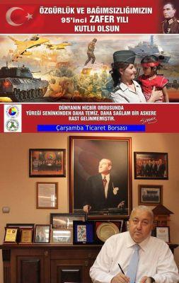 """"""" Özgürlük ve Bağımsızlığımızın, 95'inci Zafer Yılı Kutlu Olsun! """""""