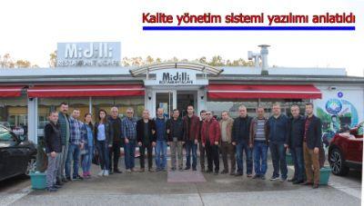 Kalite Yönetim Sistemi Yazılımı Anlatıldı