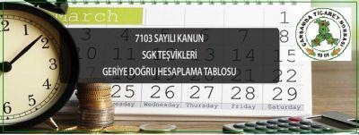 7103 Sayılı Kanun Hk.