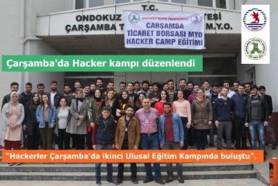 Çarşamba'da Hacker Kampı Düzenlendi