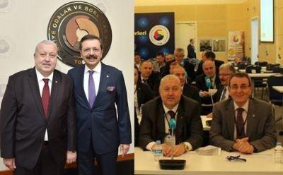 Kazım YILMAZ, Hisarcıklıoğlu ve Murzioğlu İçin Kutlama Mesajı Yayımladı.