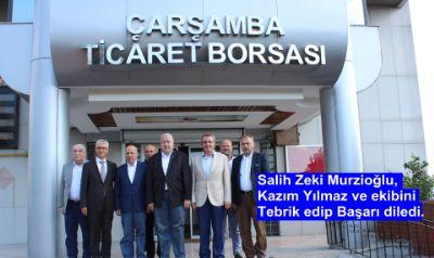 Murzioğlu, Tebrik Edip Başarı Diledi.