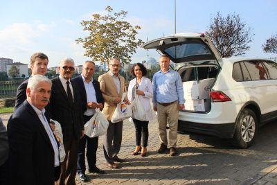 Çarşamba Ticaret Borsası ve Türkiye Odalar ve Borsalar Birliği İşbirliği ile 1000 Öğrenciye Bot Yardımı Yapıldı