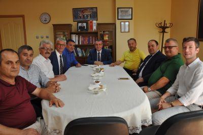 Tso Başkanı S. Zeki Murzioğlu'nun Ziyareti