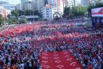 Ankara'da, On Binlerce Kişi ' Teröre Hayır, Kardeşliğe Evet ' Dedi