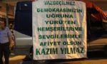 """Kazım YILMAZ'dan """" Demokrasi Nöbetine """" Tam Destek"""