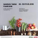 4. Tarım, Hayvancılık ve Teknolojileri Fuarı 26-30 Eylül Tarihleri Arasında Tüyap Samsun'da Gerçekleşecek.